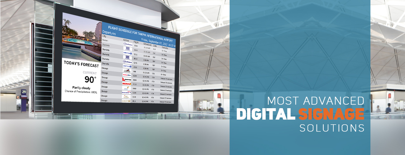 Advance Digital Signage Solutions